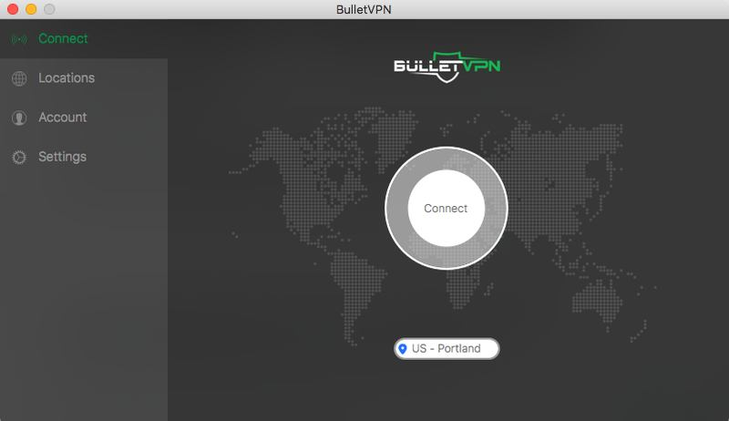BulletVPN desktop app