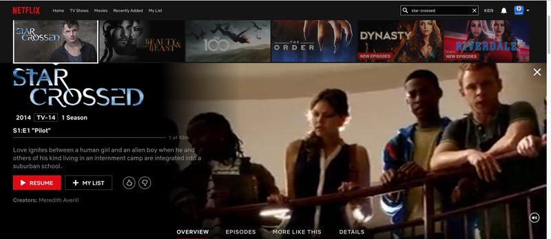 Netflix US Only Show