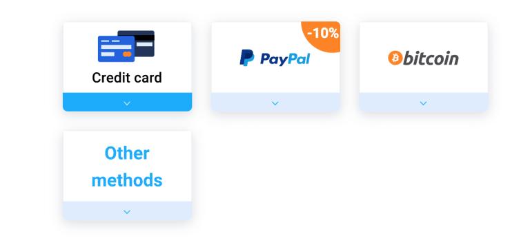 VPN Unlimited Payment Methods