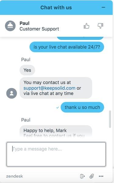 Unlimited VPN - Customer Support