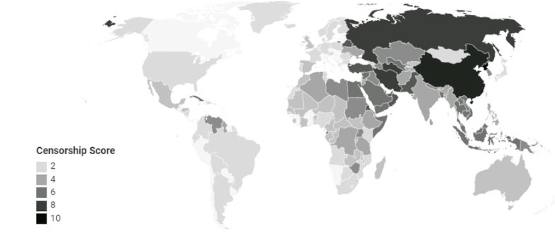 Countries that Ban VPNs