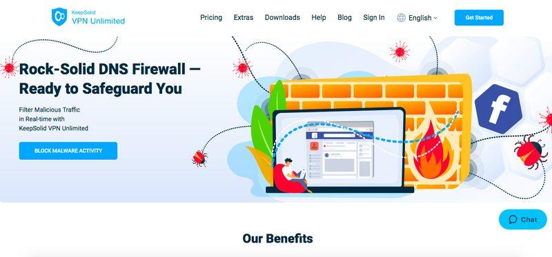 VPN Unlimited Homepage