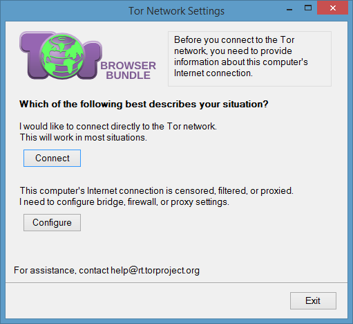 Using Tor Browser