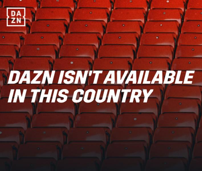 DAZN Error Message