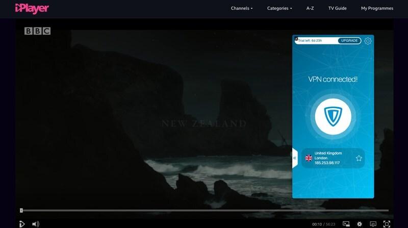BBC iPlayer with ZenMate
