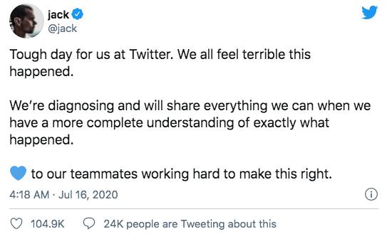 Twitter CEO Statement