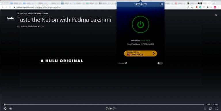 UltraVPN Hulu