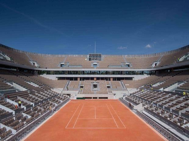 Roland Garros Empty Stands