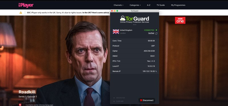 TorGuard BBC iPlayer
