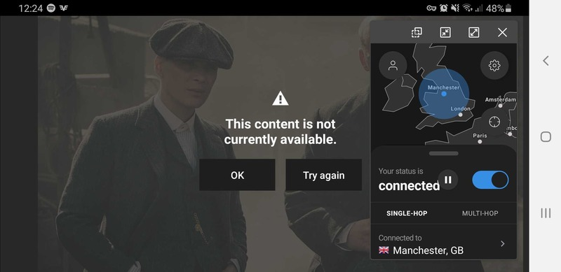 IVPN BBC iPlayer Unblocking Failed