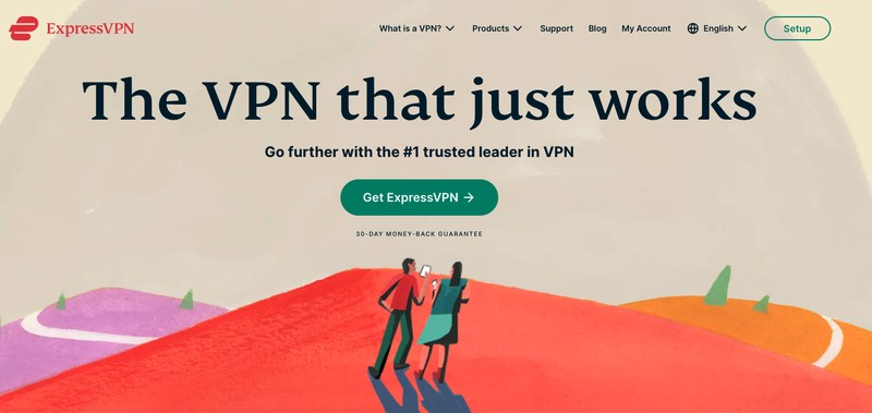 ExpressVPN-Home-Page