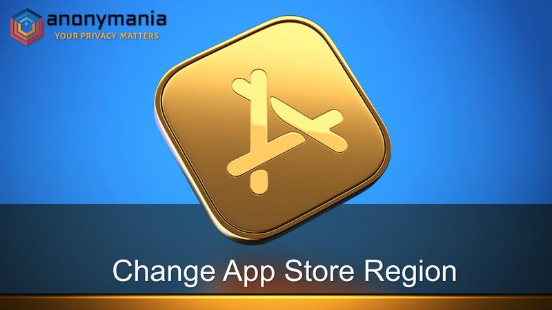 Switch Apple ID Region